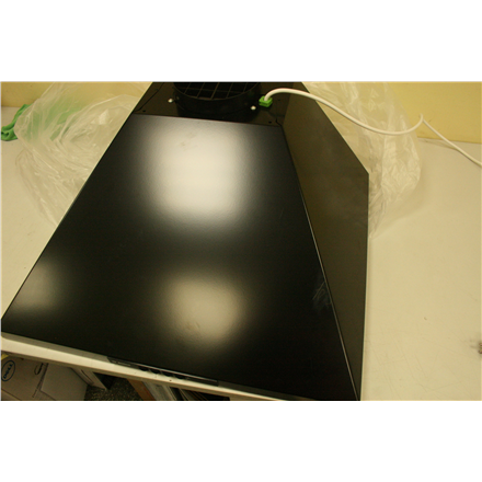 SALE OUT. Bosch Hood DWW06W460 Wall mounted, Width 60 cm, 400 mamp;#179; h, Black, SCRATCHES ON HOOD TOP