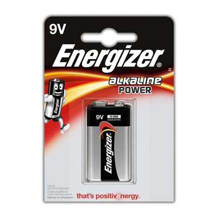 """Energizer 9V/6LR61,(""""Krona""""), 1 vnt"""