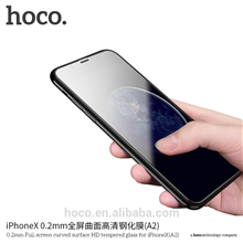 hoco. 0.2mm Full screen curved surface (A2) Screen protector, Apple, iPhone 7/8, HD Tempered glass, White