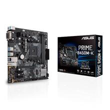 Asus PRIME B450M-K Processor family AMD, Processor socket AM4, Memory slots 2, Chipset AMD B, Micro ATX