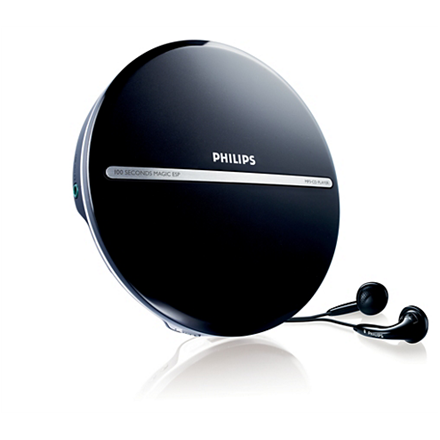 Philips EXP2546 12 Portable MP3-CD Player