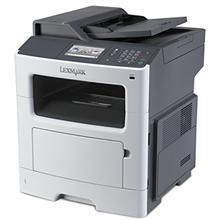 Lexmark Printer MX417de  Mono, Laser, Multifunctional, A4, Wi-Fi, Grey/ black