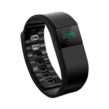 Acme ACT02 activity tracker OLED, Black, 80 mAh, Bluetooth, 1.24 cm