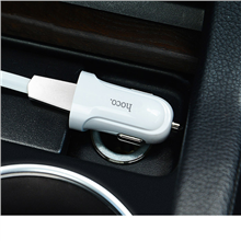 hoco. Single-port car charger  Z2