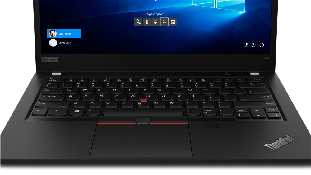 Lenovo  ThinkPad P14s (Gen 1) Black