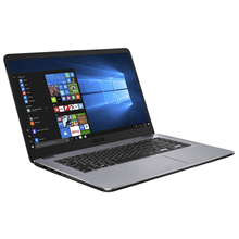 "Asus VivoBook X505ZA Grey Metal, 15.6 "", HD, 1366 x 768 pixels, Matt, AMD, Ryzen 3 2300U, 8 GB, on-board, HDD 1000 GB, 5400 RPM, AMD Radeon, Without ODD, Endless OS, 802.11 ac, Bluetooth version 4.2, Keyboard language English, Russian, Battery warran"