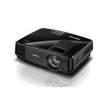 Benq MS506 SVGA, 800 x 600 DPI, 3,200 Lumens cd/m², 1.1:1, Black, Projector