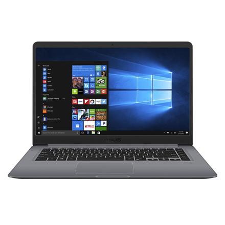 "Asus VivoBook S510UA Grey, 15.6 "", HD, 1366 x 768 pixels, Matt, Intel Core i3, i3-8130U, 4 GB, DDR4, HDD 1000 GB, 5400 RPM, Intel HD, Endless OS, 802.11 ac, Bluetooth version 4.1, Keyboard language English, Russian, Battery warranty 12 month(s)"