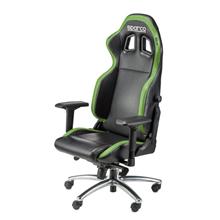 Sparco Gaming chair, Respawn SG-1, Black/Green