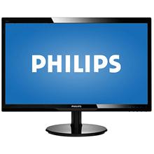 "PHILIPS 246V5LHAB 24"" (61cm) TFT WLED LCD 1920x1080 (16:9) Full HD/ 250cdqm / 10M:1 (typ"
