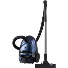 Daewoo RC-2200SA Vacuum cleaner with bag/ Working radius 7m/ Energy efficiency B/ Hard floor cleaning B/ Carpet cleaning F/ Dust permeability C/Blue