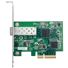 D-LINK DXE-810S, 10 Gibabit PCI Express NIC with single SFP+ port, 10G Managed with single SFP+