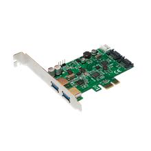 Logilink PC0059A PCI Express Karte, 2x USB 3.0 + 2x SATA III