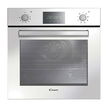 Candy FPE629 6WXL Multifunction Oven, 69 L, White, AQUA clean system, A, Push Pull Knobs, Height 60 cm, Width 60 cm, Integrated timer