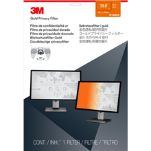 """3M GF190W1B Gold Privacy Filter for LCD Monitor 19"""" (16:10)"""