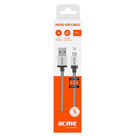 ACME CB02 Durable micro USB cable