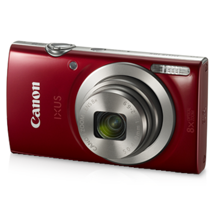 Canon IXUS 185 Compact camera, 20 MP, Optical zoom 8 x, Digital zoom 4 x, Image stabilizer, ISO 800, Display diagonal 2.7 , Focus TTL, Video recording, Lithium-Ion (Li-Ion), Red