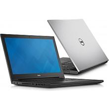 """Dell Inspiron 15 (3542) Silver, 15.6"""" HD (1366X768) LED Glare, Intel Core i3-4005U (1.7Ghz/3MB), Intel HD Graphics 4400, 4GB (1x4GB) DDR3L-1600MHz, SATA 500GB 5400rpm, Tray load DVD Drive, WLAN 802.11b/g/n +Bluetooth v4.0, Ubuntu /2xUSB2.0 / 1xUSB 3."""