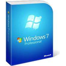 Microsoft FQC-08289 Windows 7 Professional SP1 64-bit English 1pk OEM DVD