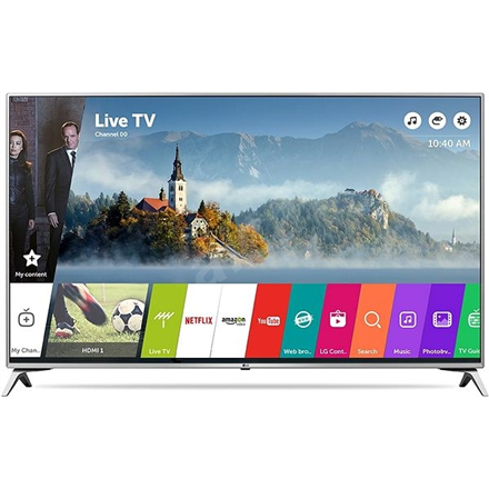 LG 43UJ6517  43 (108 cm), Smart TV, Ultra HD LED, 3840 amp;#215; 2160  pixels, Wi-Fi, DVB-T2   S2   C, Silver