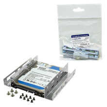 """Logilink AD0009, Mounting Bracket for 2,5"""" HDD in 3,5"""" Bay"""