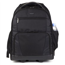 """Targus Sport Rolling TSB700EU Fits up to size 15.6 """", Black, Shoulder strap, Polyester, Backpack"""