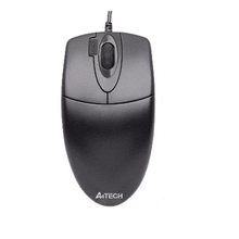 A4Tech mouse OP-620D V-Track padless, Wheel, USB (Black)