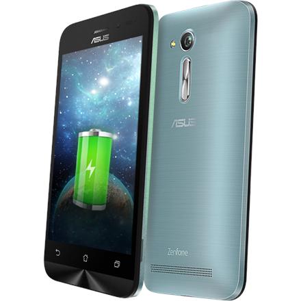 Asus ZenFone Go ZB450KL Silver Blue, 4.5 , TN, 854 x 480 pixels, Qualcomm, Snapdragon 410 MSM8916A, Internal RAM 1 GB, 8 GB, Micro SD Card up to128 GB, Micro SIM, Dual SIM, 3G, 4G, Main camera 8 MP, Second camera 2 MP, Android, 6.0, 2070 mAh, Warran
