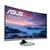 """Asus Designo Curve MX32VQ 32 """", VA, WQHD, 2560 1440 pixels, 16:9, 4 ms, 300 cd/m², Silver"""