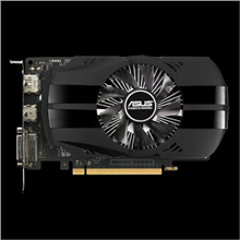 Asus PH-GTX1050-2G NVIDIA, 2 GB, GeForce GTX 1050, GDDR5, Memory clock speed 7008 MHz, PCI Express 3.0, HDMI ports quantity 1, DVI-D ports quantity 1, Cooling type Active, Processor frequency 1354 MHz