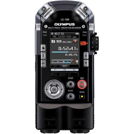 Olympus LS-100 Standard Edition Black, Digital Voice Recorder