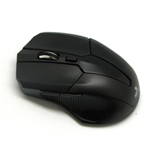 Super power Wireless Optical Mouse 83, 800/1200/1600 dpi with change Button wireless, USB Tiny Receiver, 2xAAA Battery (not included), black, Wireless connection, no