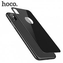 hoco. 3D backside (V10 ) Backside protector, Apple, iPhone X, Tempered glass, Black