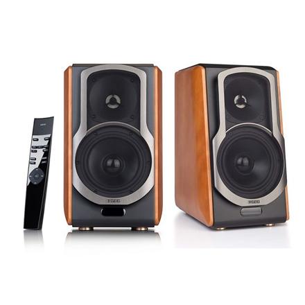 Edifier Speakers S2000PRO treble: 12W+12W   mid-range and bass: 50W + 50 W, 2