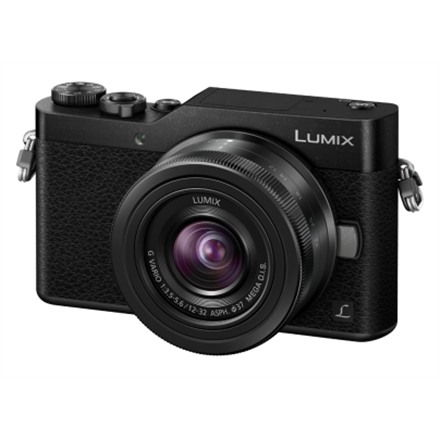 Panasonic LumixG DC-GX800KEGK System, 16.0 MP, Image stabilizer, ISO 3200, Video recording, Wi-Fi, Touchscreen, 0.20m - ∞, Display diagonal 3.0 , Magnification 0.13   0.26 x, Live MOS, Black, Lithium-Ion (Li-Ion)