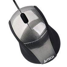 A4Tech mouse N-100-1 V-Track Padless USB (Carbon)