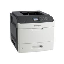 Lexmark MS811dn Monochrome Laser Printer/ 1200 x 1200 dpi/ 63ppm/ 512MB RAM/ 800MHz CPU/ LCD Display/ Paper feed: 650 sheets/ USB 2.0, Gb LAN/ White
