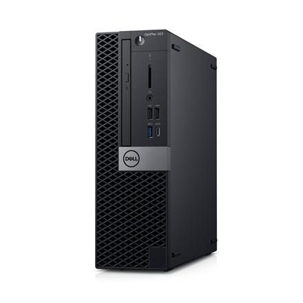 Dell OptiPlex XE3 Desktop, SFF, Intel Core i5, i5-8400, Internal memory 8 GB, DDR4, SSD 256 GB, AMD Radeon R5 430, 8x DVD+/-RW 9.5mm Optical Disk Drive, Keyboard language English, Windows 10 Pro, Warranty Basic Onsite 36 month(s)