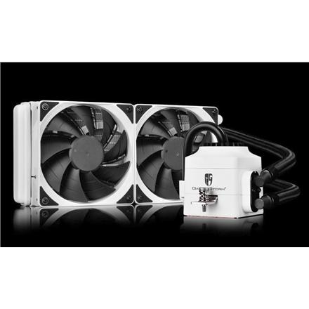 Deepcool liquid cpu cooler Captain 240 EX White  universal , 240mm radiator, deepcool Captain 240EX white universal cpu liquid cooler, 240mm radiator, Universal