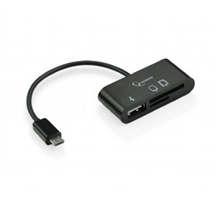 Gembird UHB-OTG-01 Micro USB card reader for mobile