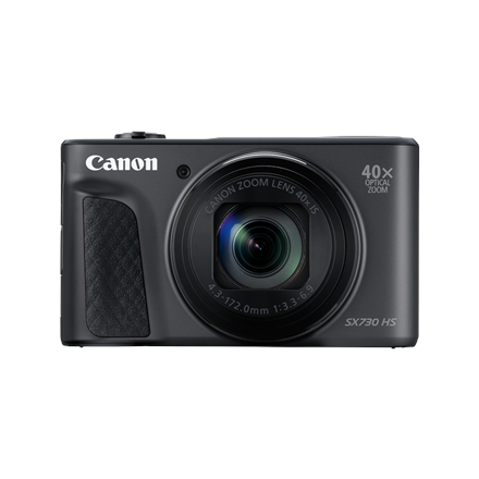 Canon Powershot SX730 HS Compact camera, 20.3 MP, Optical zoom 40 x, Digital zoom 4.0 x, ISO 3200, Display diagonal 3.0 , Wi-Fi, Focus TTL, Video recording, Lithium-Ion (Li-Ion), Black