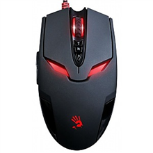 A4Tech Bloody Gaming Mouse V4M Wired USB, with metal feet (Black)