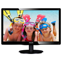 "PHILIPS 200V4QSBR 19.5"" LED/16:9/1920x1080/250cdm2/8ms"