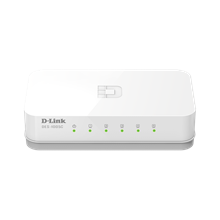 D-LINK DES-1005C, 5-port UTP 10/100Mbps Auto-sensing, Stand-alone, Unmanaged, Palm-top Fast