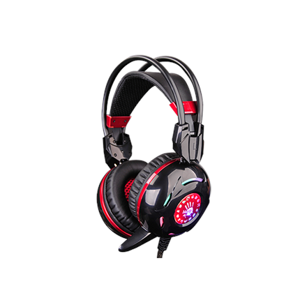 A4tech Bloody blazing Gaming Headset, black+red A4Tech Bloody blazing Gaming Headset 3.5mm, Built-in microphone