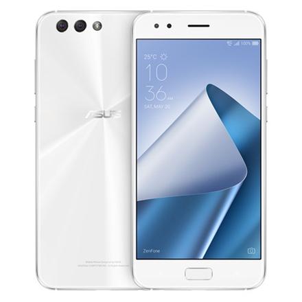 Asus ZenFone 4 ZE554KL Moonlight White, 5.5 , IPS+, 1920 x 1080 pixels, Qualcomm Snapdragon 630, SDM630, Internal RAM 4 GB, 64 GB, Dual SIM, Nano-SIM, 3G, 4G, Main camera 12 MP, Second camera 8 MP, Android, 7.0, 3300 mAh, Warranty 24 month(s)