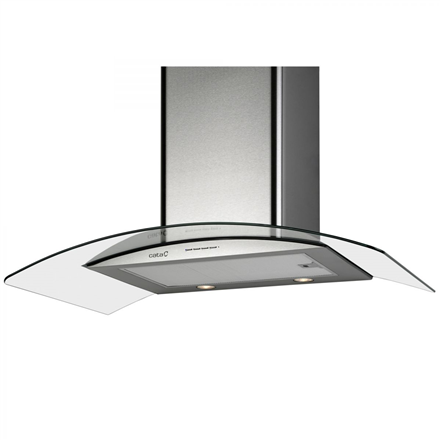 Hood CATA GAMMA VL3 700  Wall mounted, Width 70 cm, 645 mamp;#179; h, Stainless steel, Energy efficiency class C, 65 dB