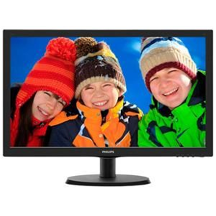 "PHILIPS 223V5LHSB 21.5"" LED/16:9/1920x1080/250cdm2/5ms/H-170,V-160/10M:1/VGA,HDMI/Audio"