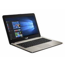 "Asus VivoBook X441NA Chocolate Black, 14 "", HD, 1366 x 768 pixels, Gloss, Intel Celeron,"