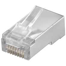 Goobay 68854 RJ45 plug, CAT 5e STP shielded